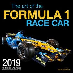 The Art of the Formula 1 Race Car 2019: 16 Month Calendar Includes September 2018 Through December 2019 - The Art of the Formula 1 Race Car 2019 presents some of the most beautiful, successful Formula 1 race cars in history, captured in studio portraits.The Art of the Formula 1 Race Car 2019 presents 13 of the most stylish race cars in history, captured in the studio portraits of master automoti...
