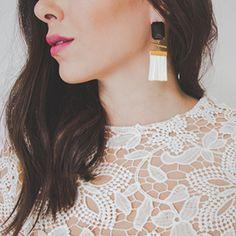 Fashionista Drop Earrings, Jewelry, Fashion, Wall Art, La Mode, Moda, Jewlery, Bijoux, Jewerly