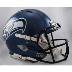 Riddell Seattle Seahawks Revolution Speed Helmets - NFLShop.com