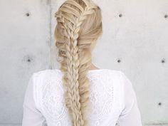 Corset Stacked Mermaid Braid by Confessions of a Hairstylist - Jenny Strebe | American Salon