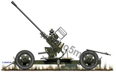 Engines of the Red Army in WW2 - 37mm 61-K M1939 AA gun