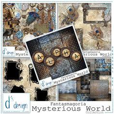 """<p style=""""text-align: center;""""> <span style=""""font-size: 16px;"""">Collection Fantasmagoria</span><span style=""""font-size: 16px;"""">""""Mysterious World"""" by Doudou's Design</span></p>"""