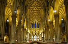 Catholic Church of St Patrick Cathedral of Archdiocese of New York USA