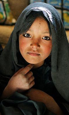 Afghan school girl