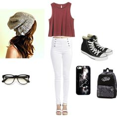 Casual - follow me on Polyvore @phoenix1705