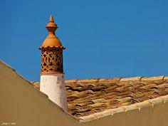 Algarvian Chimneys - Chamines Algarvias Portugal, Algarve, The Way Home, Famous Places, Old World Charm, My Heritage, Moorish, E Design, Portuguese