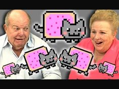 Elders React To ...  You know the webseries Kids React To ... Now there is Elders React To ... First episode: Nyan Cat!