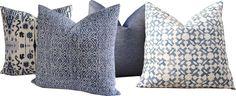 Indigo blue Block Print