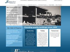 Jenkins-Essex Construction custom web site design