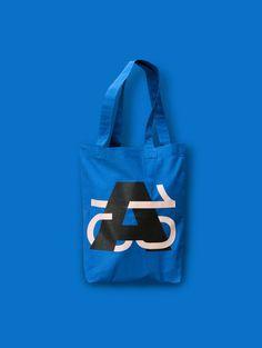 Atypi Amsterdam Cotton Bag designed at Studio Dumbar by Vincent Vrints