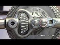Stanley Sweetheart Breast Drill no. 741 | Wranglerstar - YouTube