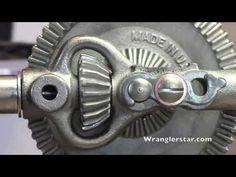 Stanley Sweetheart Breast Drill no. 741 | Wranglerstar - YouTube