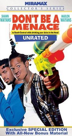 """Directed by Paris Barclay.  With Shawn Wayans, Marlon Wayans, Keenen Ivory Wayans, Tracey Cherelle Jones. """"Don't Be a Menace to South Central While Drinking your Juice in the Hood"""" is a parody of several U.S. films about being in the 'Hood', for instance """"Boyz n the Hood"""", """"South Central"""", """"Menace II Society"""", """"Higher Learning"""" and """"Juice"""". We follow Ashtray as he returns to the place he grew up in and meet his father and his basket-case friends. Crazy stuff happens. For example, Ashtray is…"""