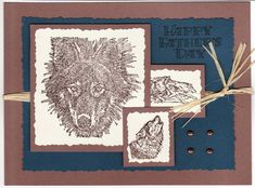 Wolf Father's Day Card by cmk7471 - Cards and Paper Crafts at Splitcoaststampers
