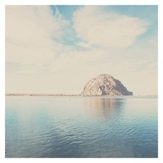 morro rock photograph morro bay california by oohprettyshiny