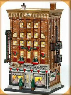 Ferrara Bakery & Cafe NEW Department Dept. 56 Christmas In The City Village CIC