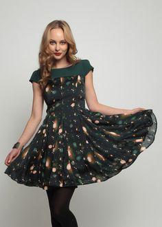 0bfc065d9d058 Eva Franco Anuscha Dress- Polka Daze Perfect Dress for Holiday Parties! Eva  Franco,