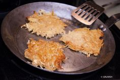 Make crunchy vegan Hashbrowns with homemade apple sauce that are good for the environment too. This is a recipe with zero waste tips.