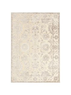 A gorgeous sheen and feminine pattern, our Emperor Rug is fit for a queen.