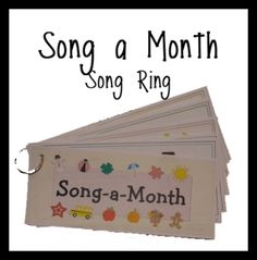 "FREE Singing makes learning fun! Have fun singing a new song every month! Each song is to the tune ""I'm a Little Teapot"". There are 12 songs included, one for each month of the year.  Perfect for toddlers, preschoolers and Kindergarten classrooms.The artwork and songs were created by Ashley Rives of Me & Marie Learning."
