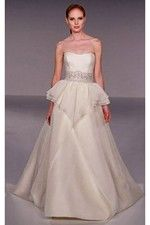 This wonderful Wedding Dresses Organza Princess with New Design and Embroidery Wedding Dress This beatiful cheap wedding dresses use the Organza material, the front Dipped neckline compose this elegant and charming dress. A-line outline match with your unique and sexy appeal. Dressaler.com offer you the best ball-gown wedding dresses There must be one for you. - $151.19