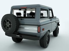 We had a couple of these when I was growing up.  The hard top would lift off in the summer. 4-wheelin' on off-roads.  Fun!!