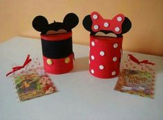 Cofrinho da Minnie e Mickey