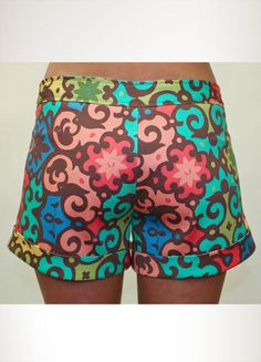 Judith March Shorts. Common sense tells me not to wear these, but I love them just the same.