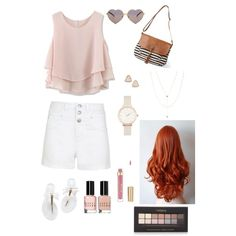 Summer Breeze by troixmac on Polyvore featuring polyvore, fashion, style, Chicwish, maurices, Jennifer Zeuner, Olivia Burton, Kendra Scott, Wildfox, Forever 21 and Bobbi Brown Cosmetics