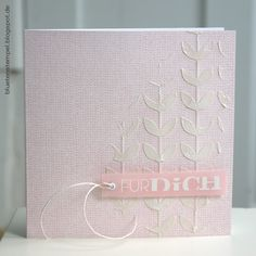 Try MB negative die cut as stencil for embossing paste