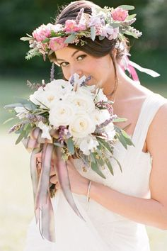 lilac and pink wedding bride bouquet style brides of adelaide magazine