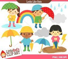 Clip Art - Looks Like Rain