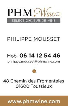 PHM Wine Philippe Mousset