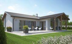Tropical House Design, Modern Small House Design, Sip House, House Roof, Bungalow Exterior, Bungalow Renovation, Gable Roof Design, Summer House Garden, H Design