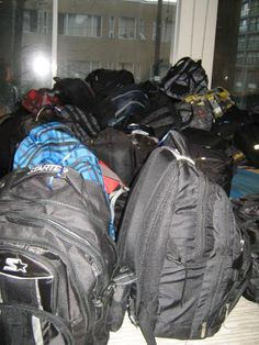 Christmas backpacks for our youth