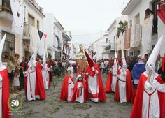 #SemanaSantaenAndalucía: Nerja ( #Málaga)