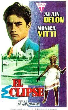 CARTELES DEL  CINEMA: EL ECLIPSE (L'eclisse, 1962), de Michelangelo Anto...