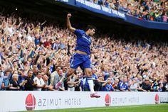 Chelsea 2-0 Leicester City.  Diego Costa and Eden Hazard both bag as Chelsea remain at the top of the Premier League. Read the full story here >>> http://www.squawka.com/news/chelsea-leicester-city-match-report/163750 #CFC #Chelsea #LCFC #Foxes