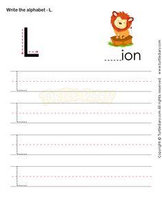 math worksheet : letter writing l  esl efl worksheets  preschool worksheets  : Letter L Worksheets For Kindergarten