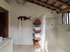 Casa rústica na Bahia com vista para o mar