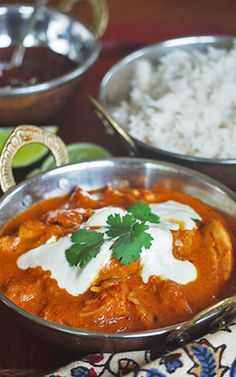 Easy Butter Chicken by Julie Goodwin Aussie Food, Desi Food, Indian Dishes, Butter Chicken, Main Meals, Indian Food Recipes, Love Food, Chicken Recipes, Pakistani Culture