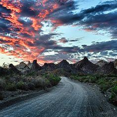 Mojave Desert Sunset Photography Wall Decor от ReneeSullivanPhoto #GeorgeTupak