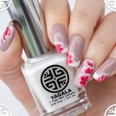 Schöne Nagelkunst – Nails, You can collect images you discovered organize them, add your own ideas to your collections and share with other people. Beautiful Nail Art, Gorgeous Nails, Manicure And Pedicure, French Pedicure, Diy Nails, Cute Nails, Nail Art For Girls, Nail Art Videos, Nagel Gel