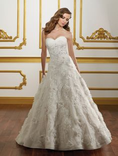 Mori Lee 1801 Ivory/Silver size 10 In Stock Wedding Dress