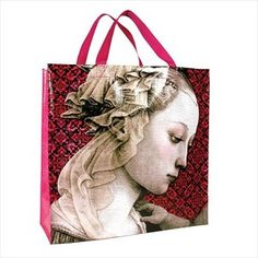 This stylish Madonna Shopper holds up to 45 pounds of groceries, and also makes a great gift bag. ONLY ONE LEFT! Ecommerce Platforms, Madonna, Great Gifts, Reusable Tote Bags, Stylish, 45 Pounds, Bags