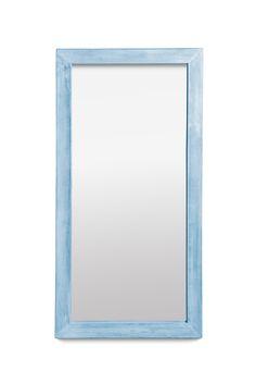 """НАСТЕННОЕ """"БАЙКАЛ"""" Настенное зеркало из лиственницы.  Размер: 120х60 см. Ширина рамы: 6 см. Толщина рамы: 3 см. Материал: лиственница. Цвет: голубой.  *Подходит для ванной комнаты. Mirror, Home Decor, Decoration Home, Room Decor, Mirrors, Home Interior Design, Home Decoration, Interior Design"""