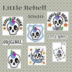 """""""Little Rebell"""" ist ein richtiger kleiner Rebell, der tatsächlich auch mit zwei """"L"""" geschrieben wird :-D    Er stellt das Gegenstück der """"Lovely Sk..."""