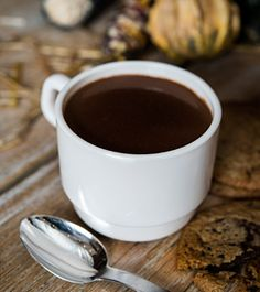 Bourbon hot chocolate is good for the soul, and your taste buds!