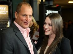 "Kat Dennings Photos Photos - Actor Woody Harrelson (L) and actress Kat Dennings attend the ""Defendor"" film premiere at The Landmark Theater, Westwood on February 22, 2010 in Westwood, California. - Premiere Of ""Defendor"" - Arrivals"