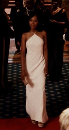 Olivia Pope At The White House Driving Fitz Insane With That Dress